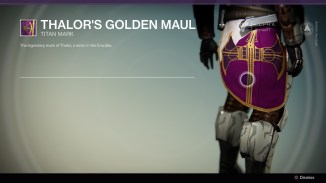 Thalor's Golden Maul