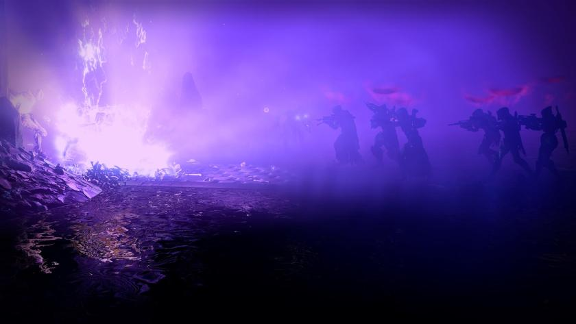 The Crota's End raid takes place inside the Hellmouth, on the moon.