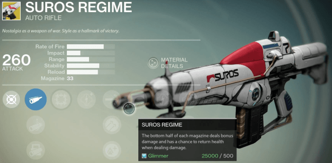 suros regime review