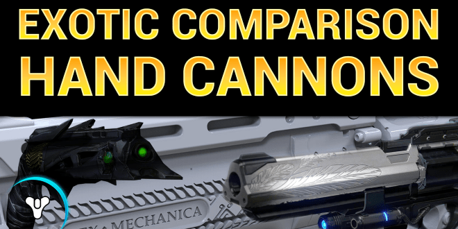 exotic hand cannon compare