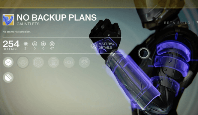 no backup plans exotic