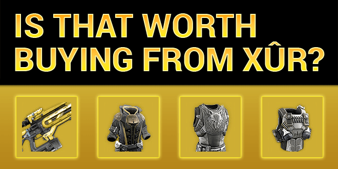 xur worth buying