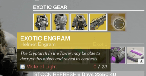 xur items last word