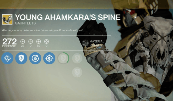 young ahamkara's spine