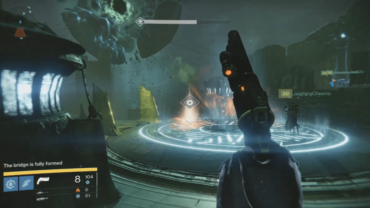 Destiny how many lamps are in crotas end - To Begin Position Two Guardians Under Each Totem And Two On The Bridge Plate This Covers Each Area And Will Help Keep You From Being Overrun And Causing