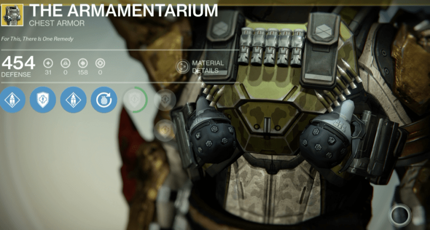 the armamentarium exotic titan