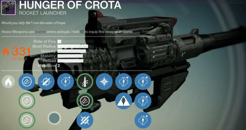hunger of crota raid review