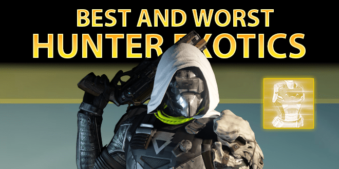 best hunter exotic armor
