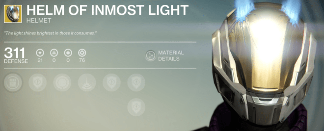 helm of inmost light exotic review
