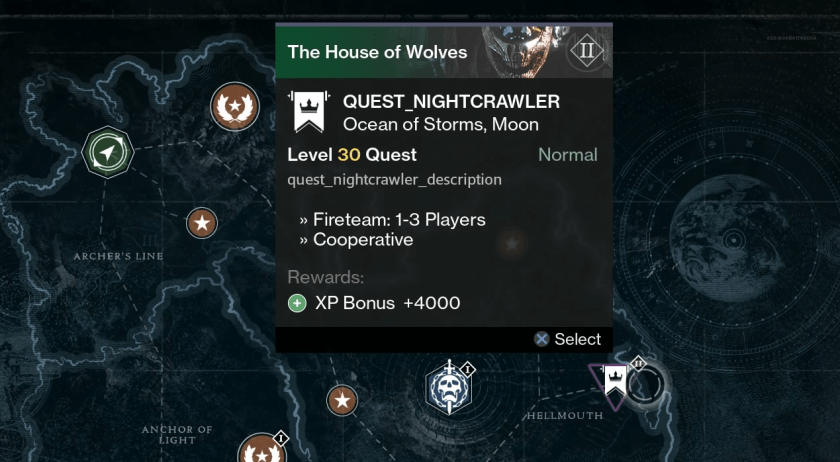 house of wolves quests