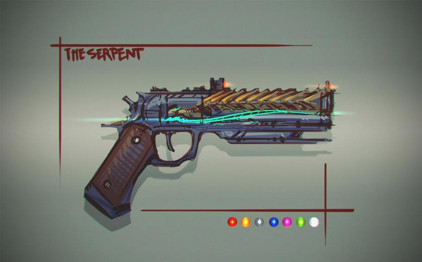 the serpent exotic hand cannon