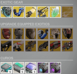 xur exotics feb