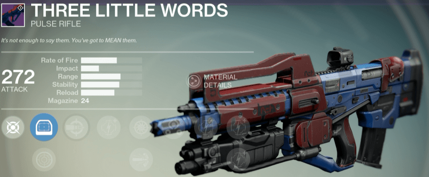 best legendary pulse rifle