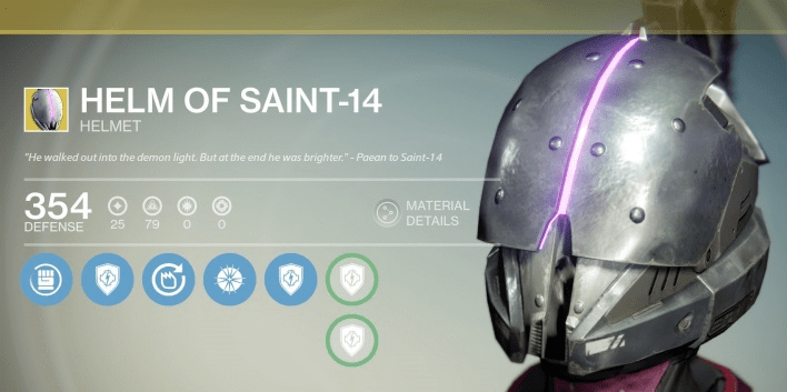 helm of saint-14 exotic review