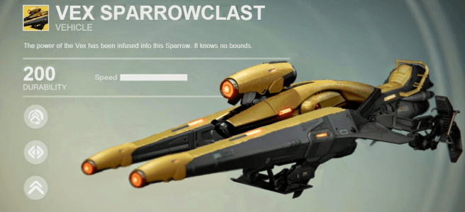 exotic sparrow destiny