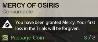 mercy of osiris