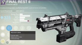 final rest fusion rifle