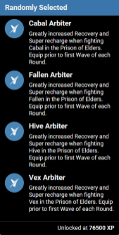 prison elders helm perks