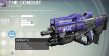 the conduit pulse rifle