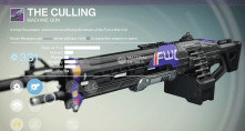 the culling machine gun