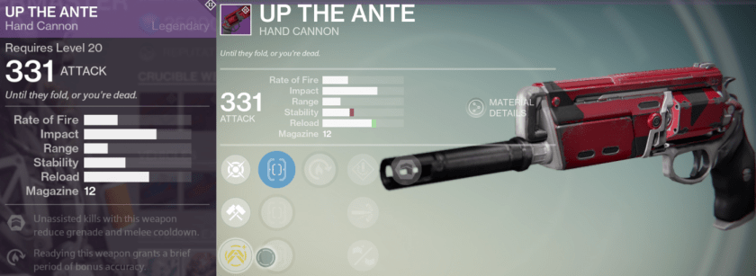 up the ante best hand cannon