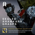 Sealed Ahamkara Grasps