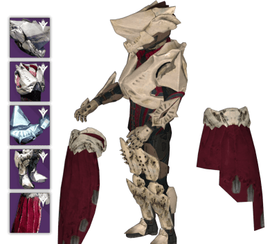 king's fall titan raid armor