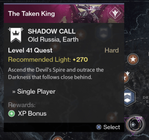 shadow call mission