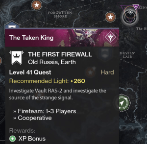 the first firewall mission
