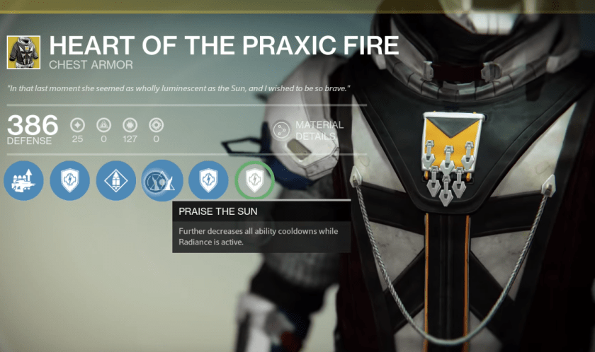 heart of the praxic fire exotic review