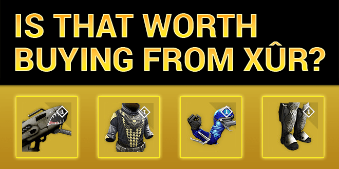 xur worth buying exotics3