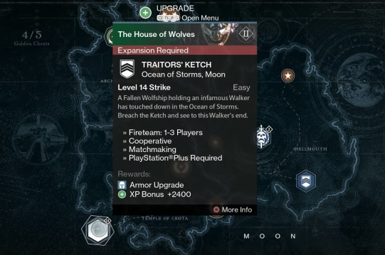 traitor's ketch strike