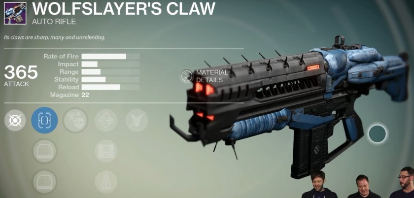 wolfslayer's claw prison of elders