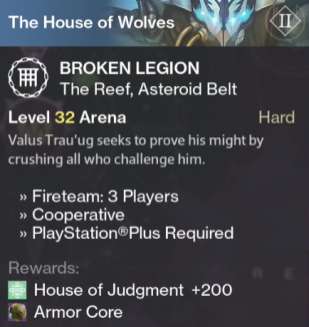 broken legion prison of elders