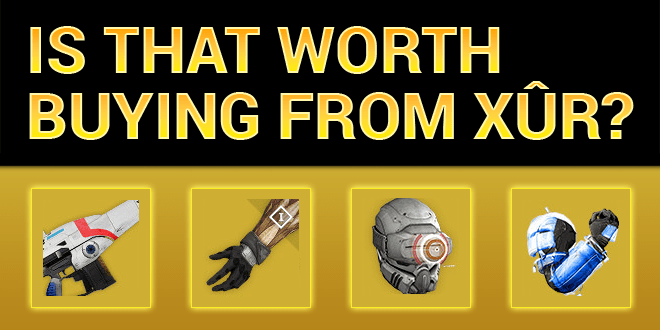 xur worth buying suros