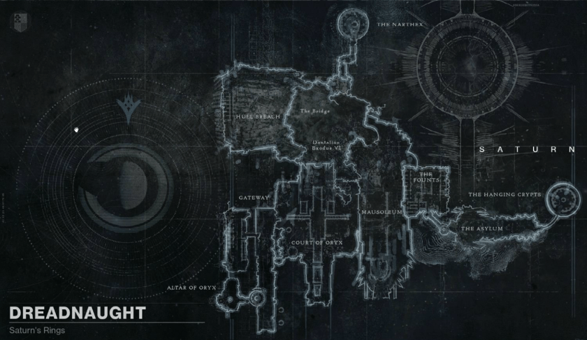 dreadnaught map