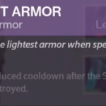 sparrow racing chest armor