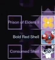 prison of elders consumed shell