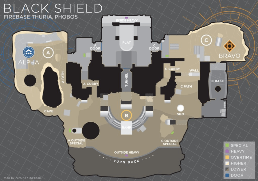 black shield trials callouts