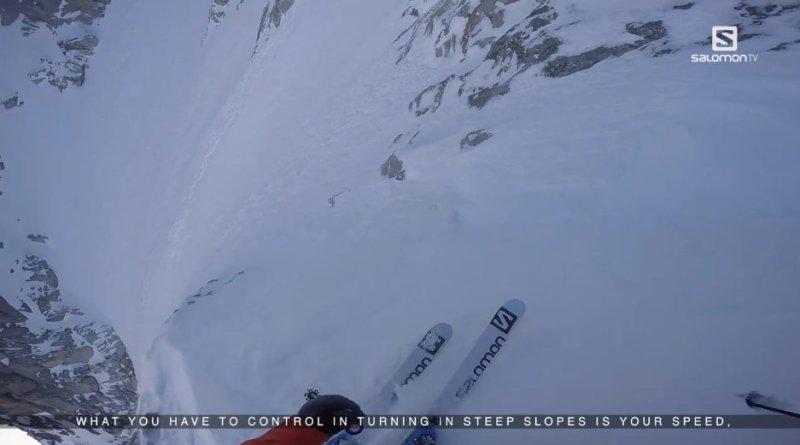 video-ski-pente-raide