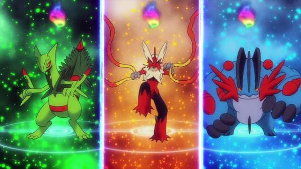 mega evolutions starters