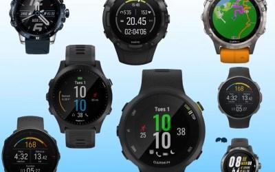 Comparatif Montre GPS de Trail et Ultra-Trail en 2020