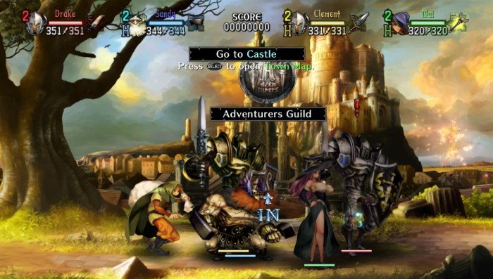 Dragon's Crown sur PS Vita