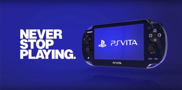 Sony confirme que la commercialisation des cartouches PS Vita se poursuit au Japon.