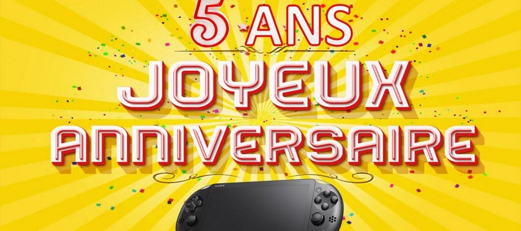 La PS Vita a 5 ans, fêtons ça ensemble !