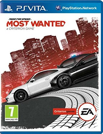 Need For Speed Most Wanted promo psvita