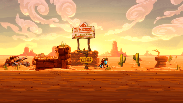 SteamWorld Dig 2 se creuse une place sur PS Vita le 27 Septembre !
