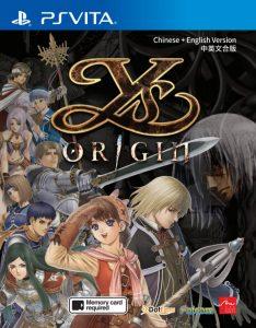 Concours Ys Origin PS Vita