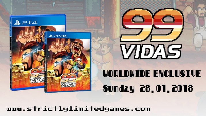 99VIDAS Strictly Limited PS VITA PS4