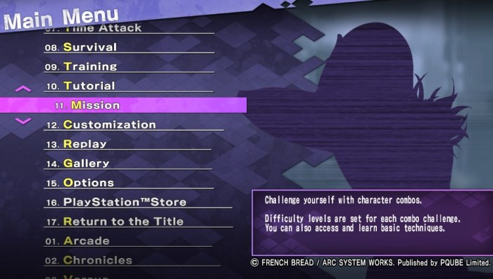 under night in birth exe latest